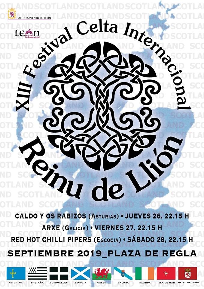 Nos vamos al intercéltico de León