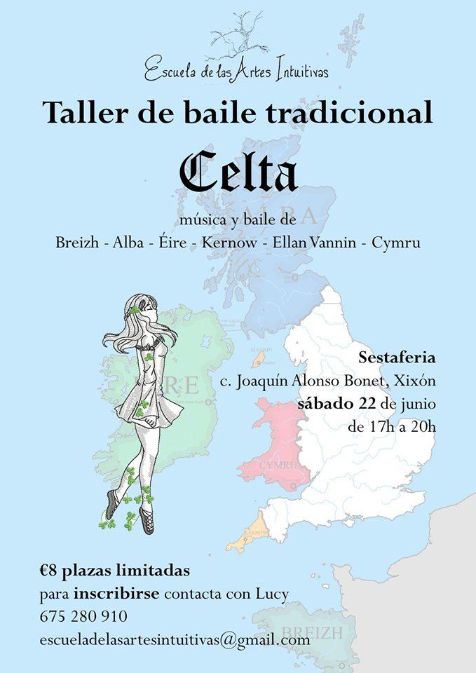 Curso de bailes celtas en Gijón