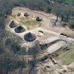 Viviendas circulares de la edad del hierro en Gales