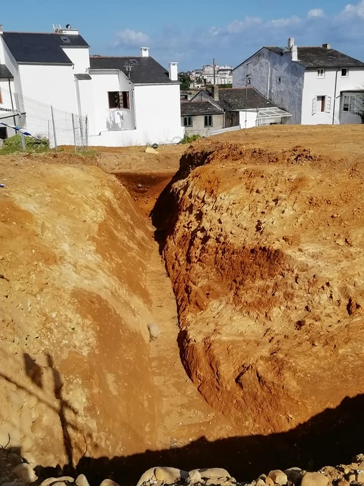 Hallados restos de la Edad del hierro en Castropol. Historia de los descubrimientos recientes en As Huertas
