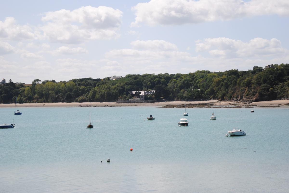 Viaje por Bretaña. Cancale, sol playa y ostras