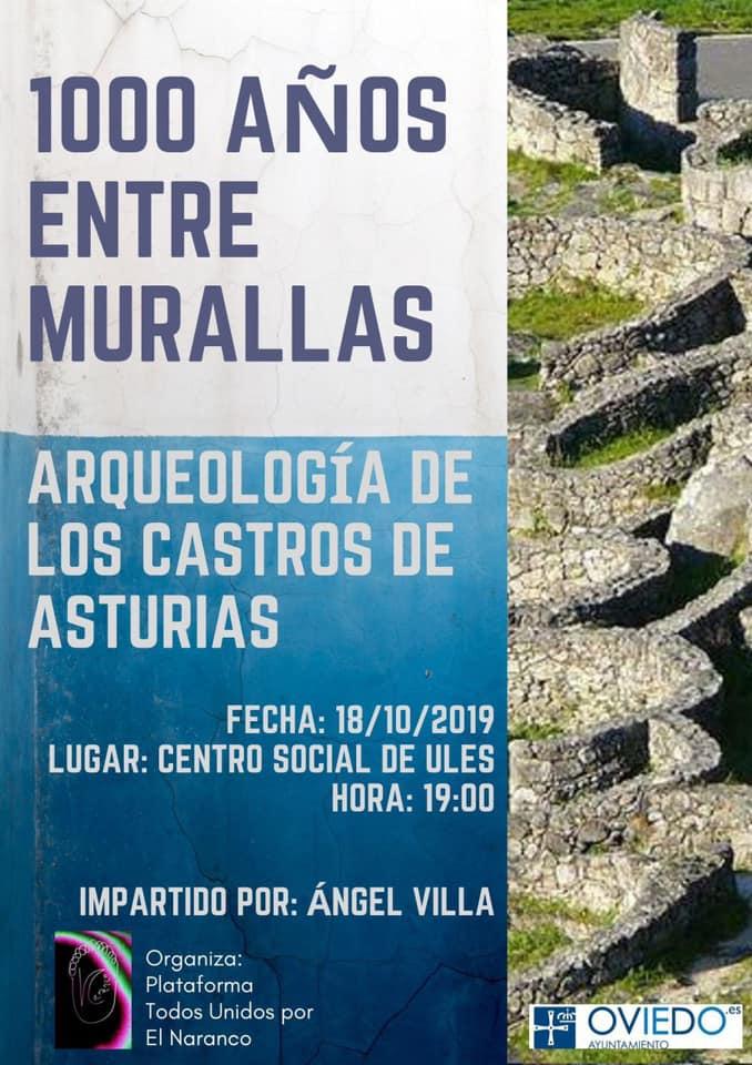 Conferencia 1000 años entre murallas. Angel Villa