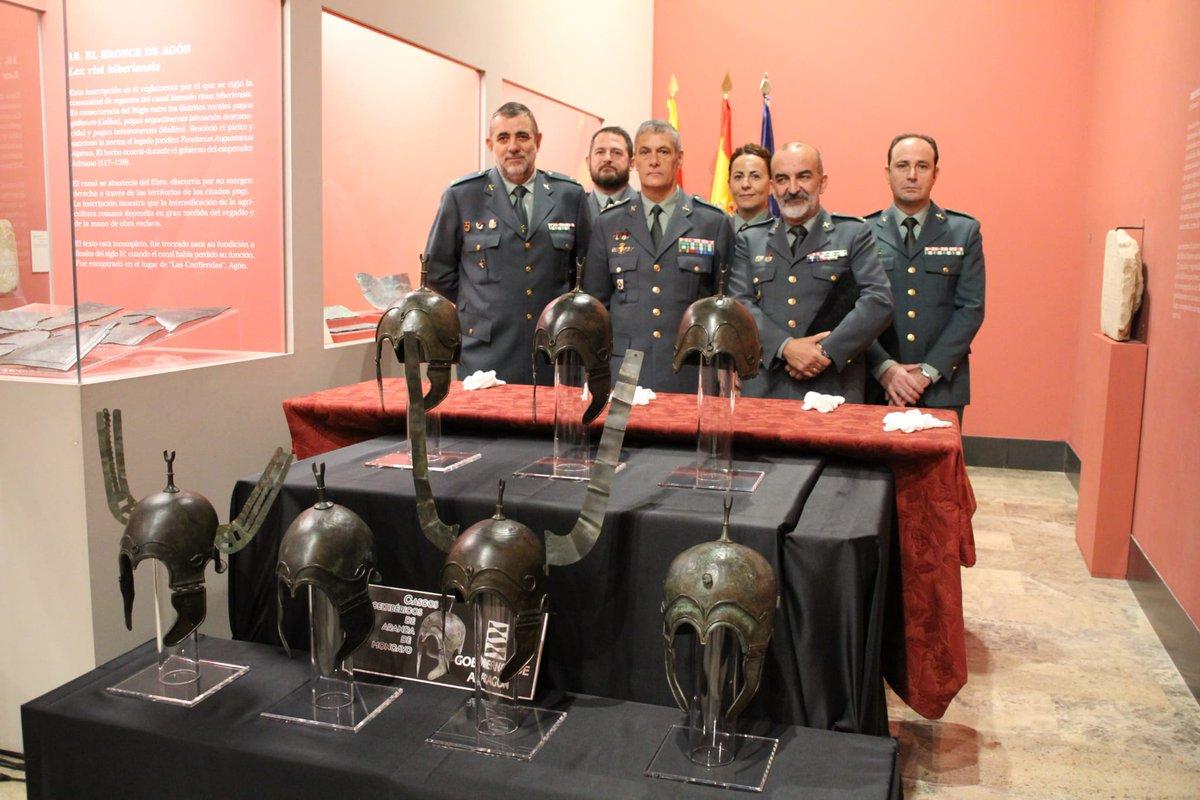 Historia para dummies de los cascos celtibéricos expoliados y recuperados en España