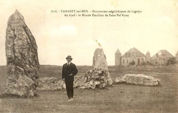 Viaje a Bretaña. De Morlaix a Camaret-sur-Mer y acabar durmiendo en Locronan, aventuras furgoneteras.
