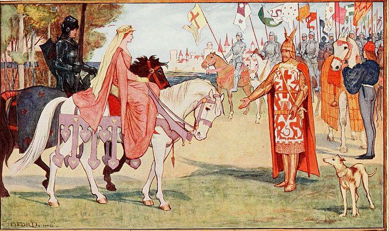 Mujeres del mundo celta. Quien era la reina Ganhumara de Britania