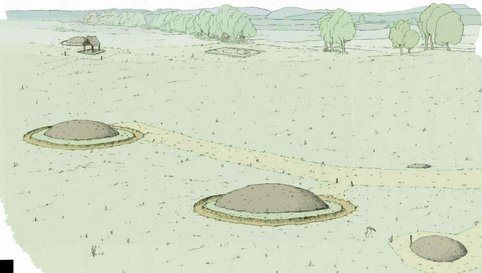 Descubierta una tumba de una mujer de la Edad del Hierro en Francia
