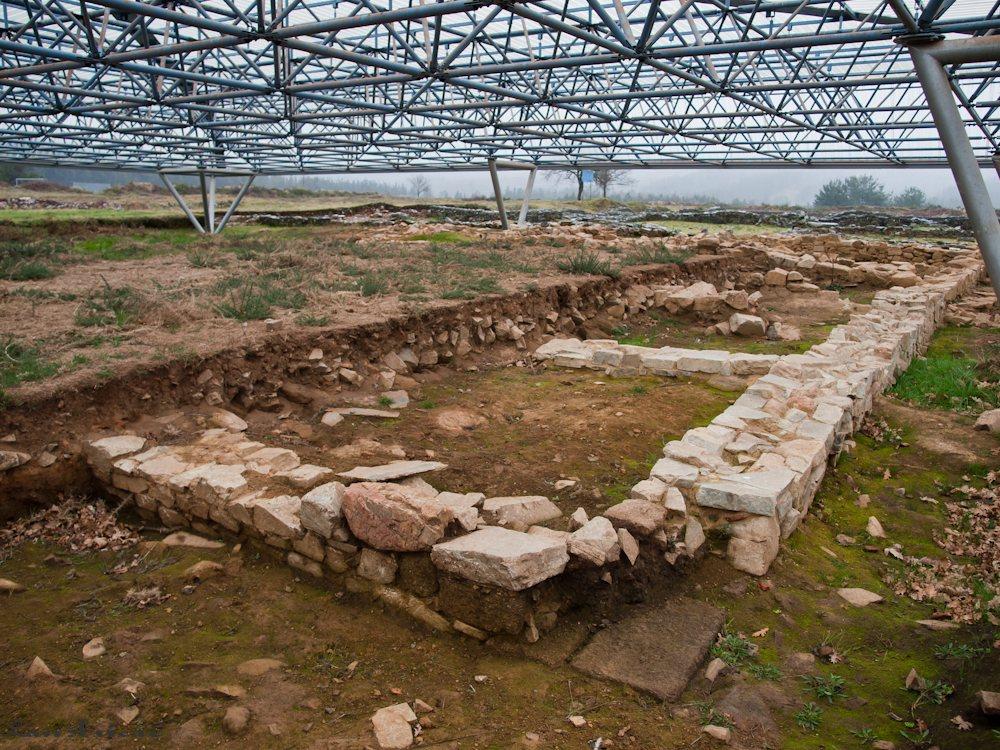 El campamento romano de A Ciadella
