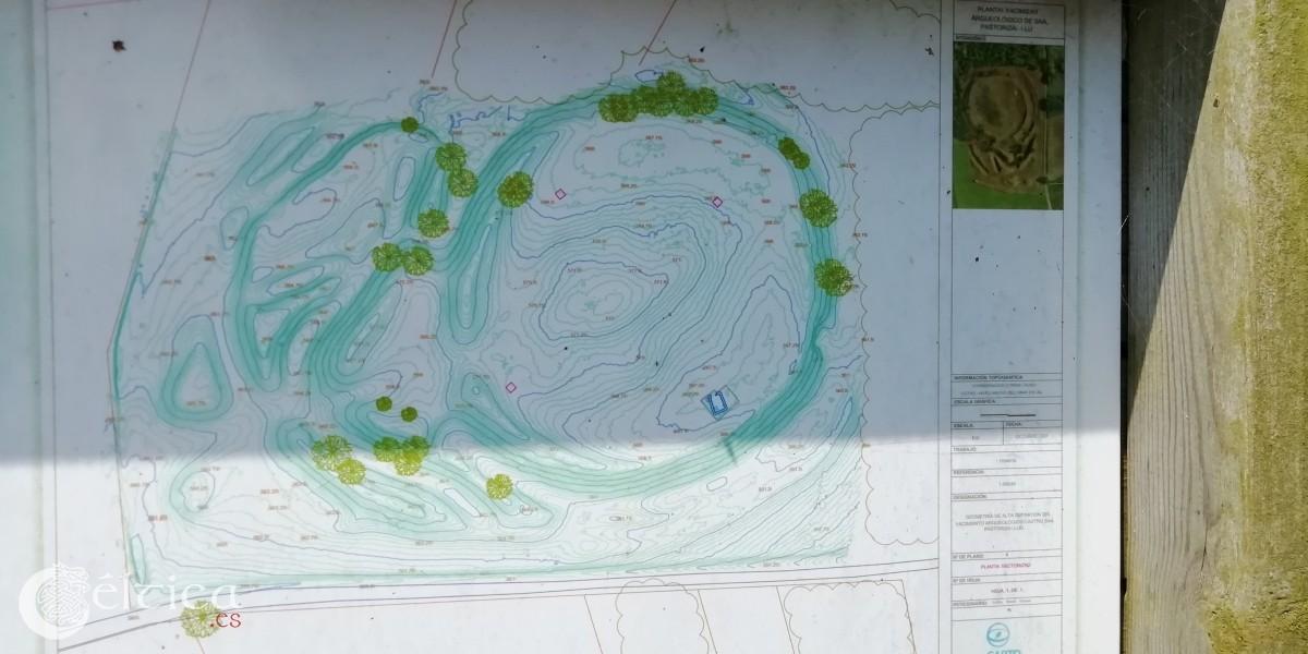 Información topográfica del asentamiento