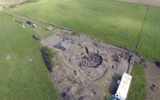 Arqueología de un enorme festín de la Edad del Hierro