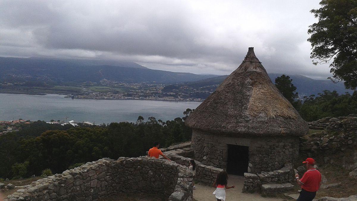 El castro de Santa Tecla, Galicia
